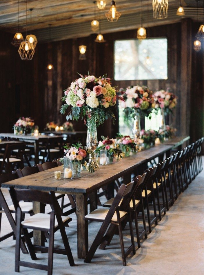 Rustic wedding at the Creek Haus