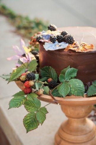 Petite chocolate cake
