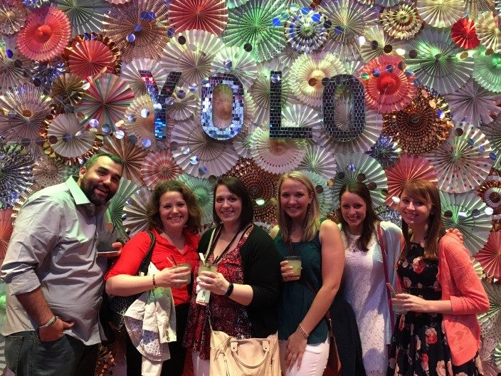 The Smock team at the 2016 Paper Party