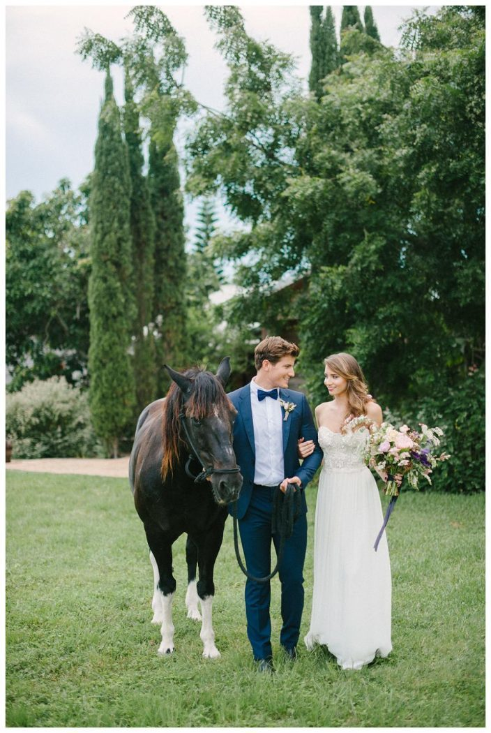 Rustic horse ranch wedding inspiration