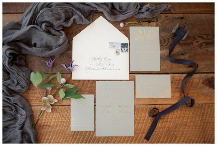 Greely wedding invitations from Smock featured by Weddings Unveiled Magazine