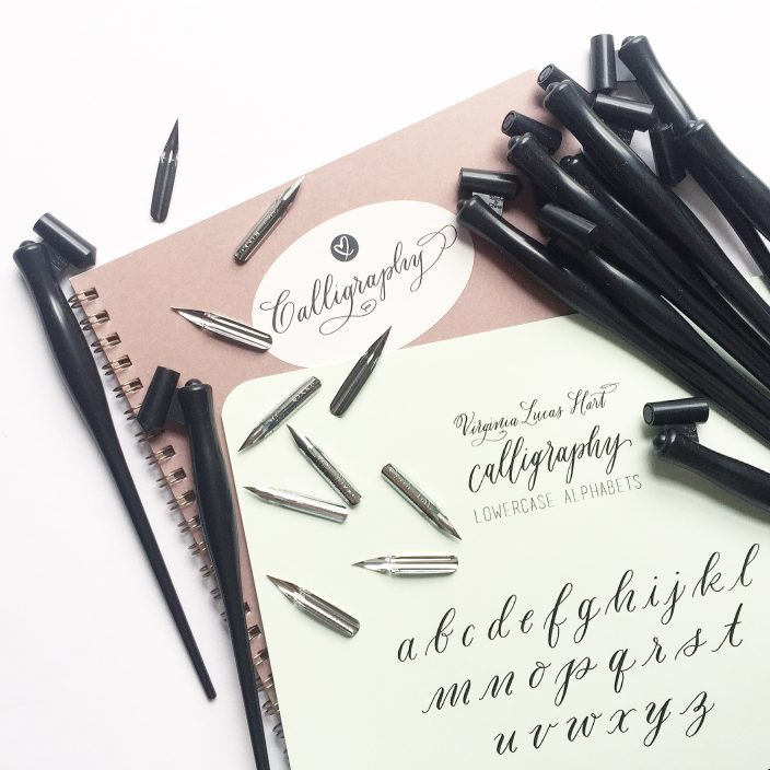 Calligraphy workshop with Virginia Hart