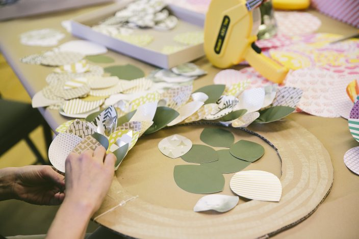 Wreath-making workshops at Smock