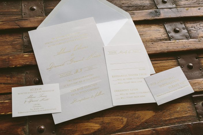 Custom wedding invitations from Smock