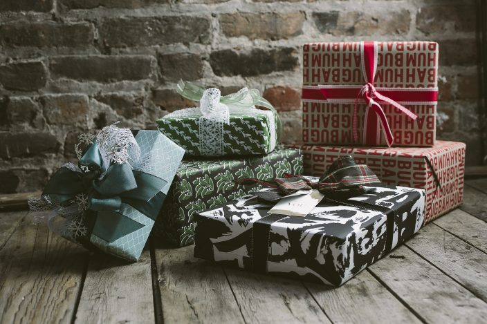 Gift wrapping essentials from Smock