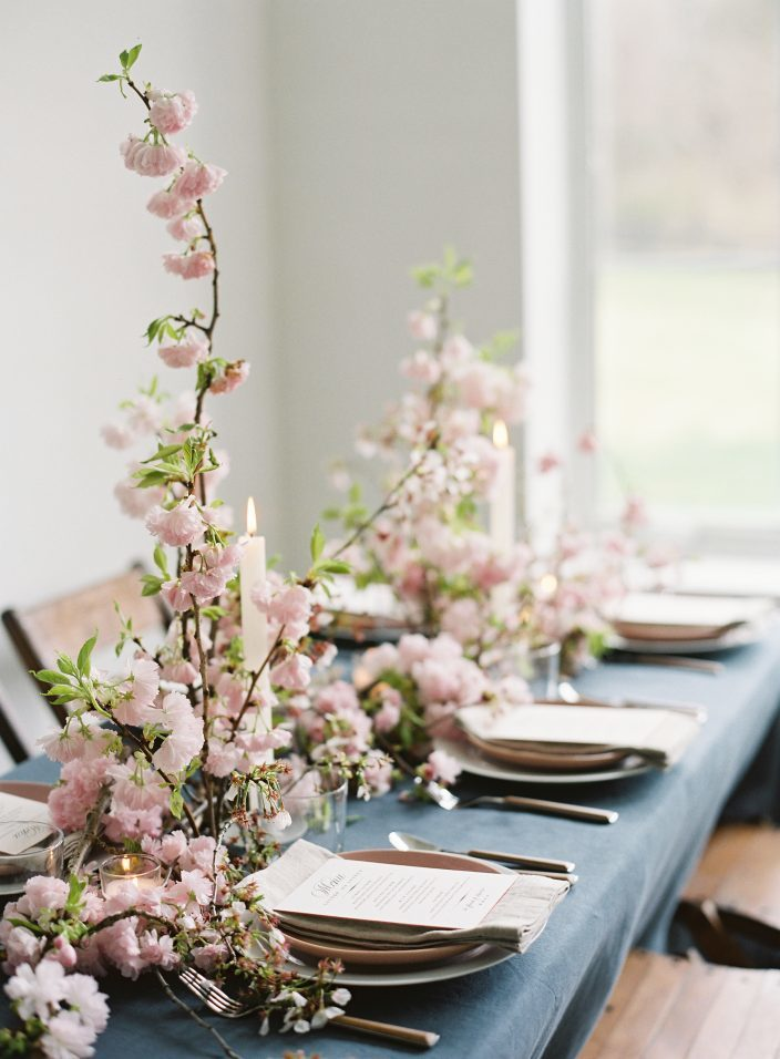 Cherry Blossom wedding inspiration | photos by Angela Newton Roy Photography