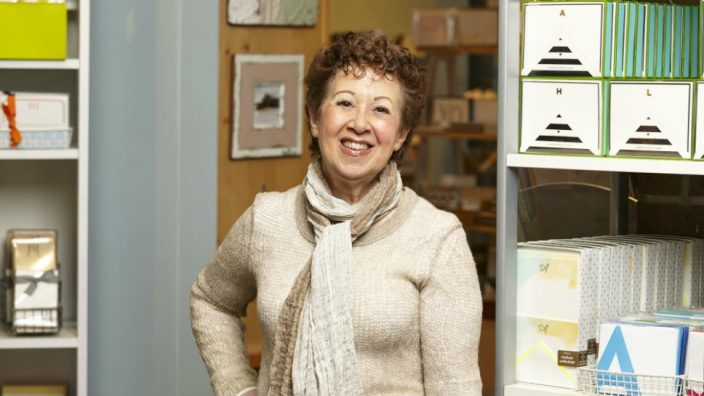 Sheryl Oberman, owner of the Stationery Station