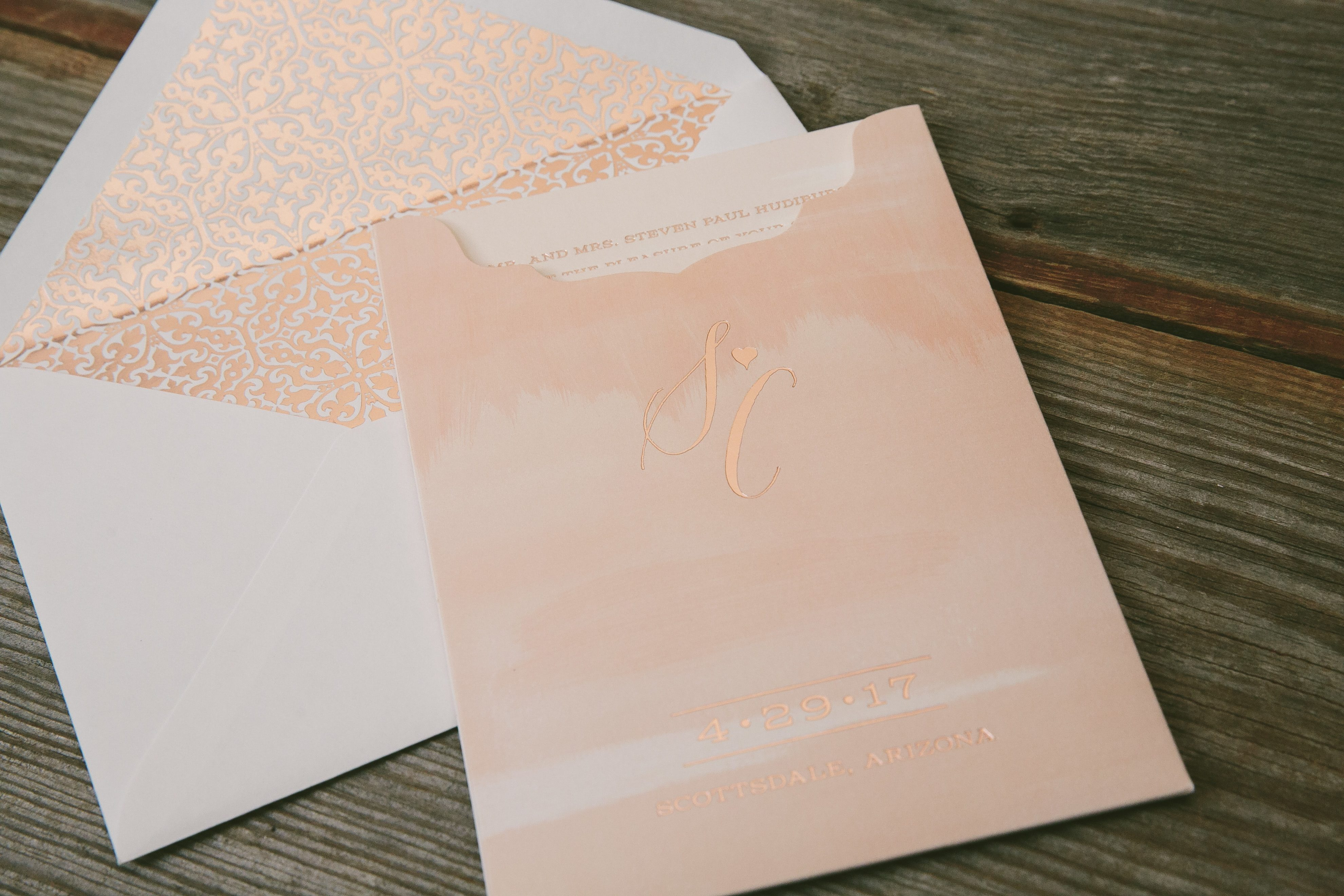 Foil stamping color rose gold shine digital ink color cmyk fonts durham covington paper 2 ply white bamboo 1 ply white bamboo size s8