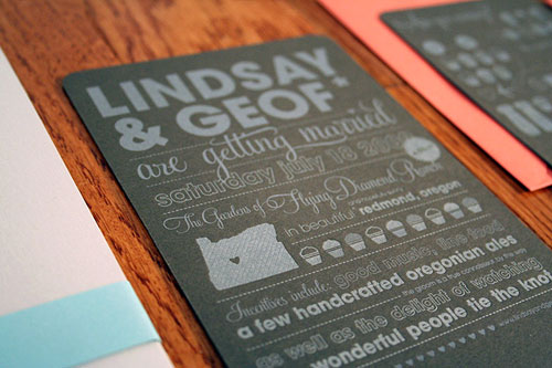 nontraditional wedding invitations Archives - Boxcar Press