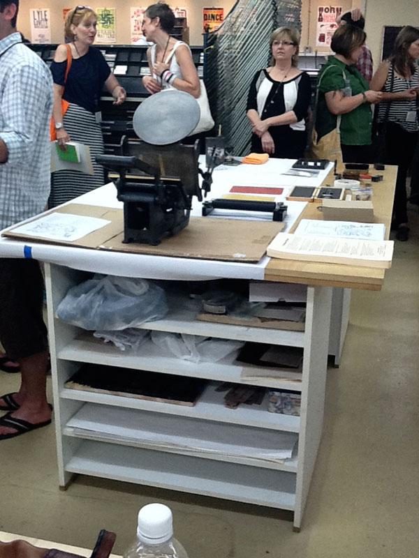 table-top-press-setup