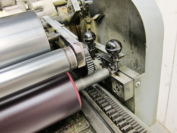 Universal 1 Vandercook press