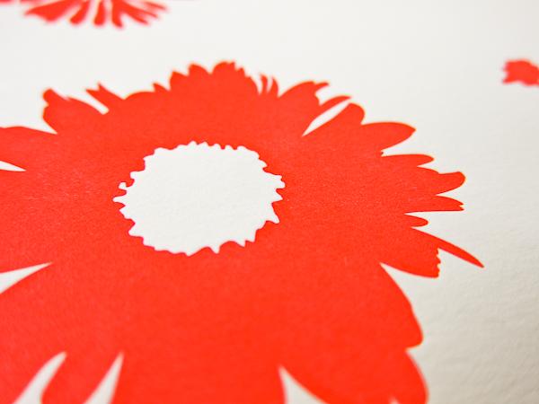 smock letterpress design