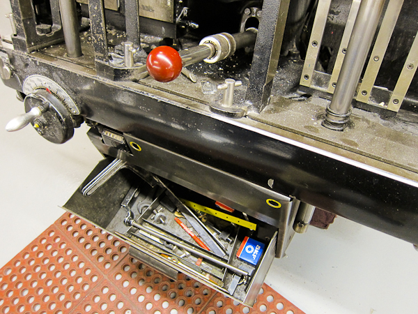 letterpress printing tools