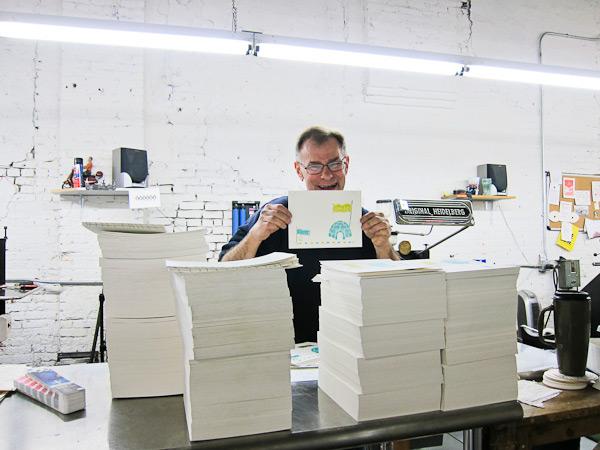 letterpress printers love paper