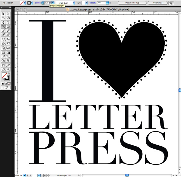 letterpress file prep tips from Boxcar Press
