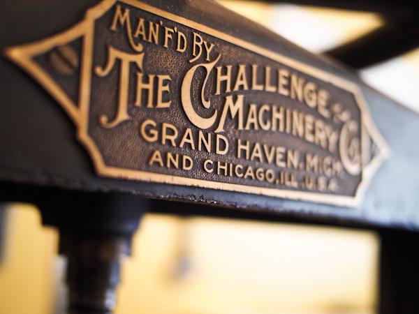 Vintage Challenger Cutter