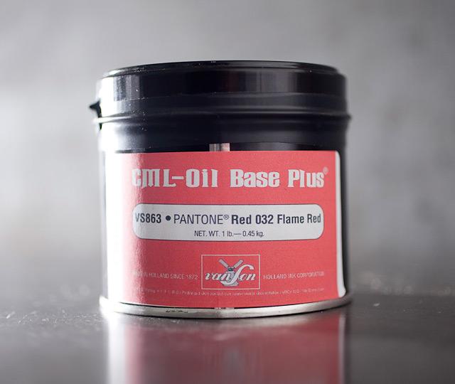Pantone Flame Red (032) - oil base