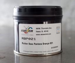 Pantone Orange 021 - rubber base