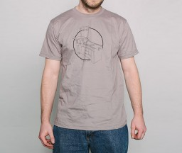Letterpress T-shirt: Vandercook Printing Press front