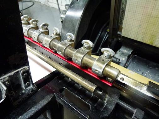 boxcar press letterpress printshop