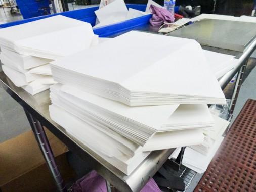 Eco friendly envelopes at Boxcar Press