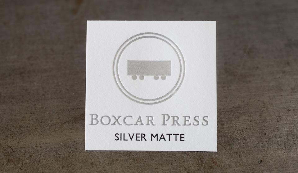 silver-matte