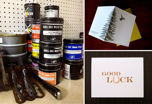 Victory Special Press is a letterpress shop based in Anchorage Alaska