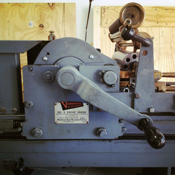 Victory Special Press is a letterpress print shop based in Anchorage Alaska