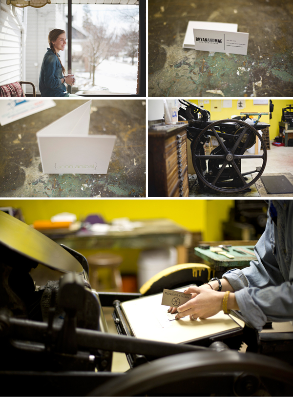 Gracie Fenech of Freshly Squeezed gave Boxcar Press a tour inside her Grand Rapids, Michigan letterpress shop