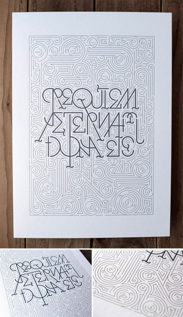 La Trasteria is a letterpress print shop in Barcelona
