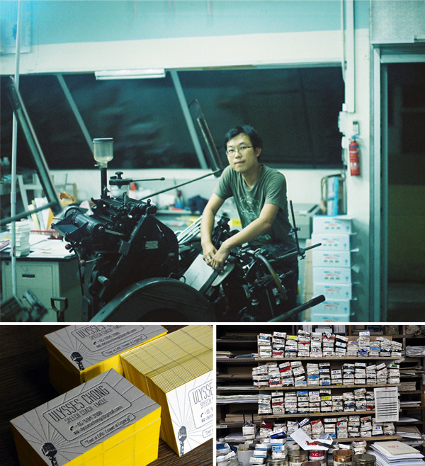 Papypress is a letterpress print shop based in Singapore