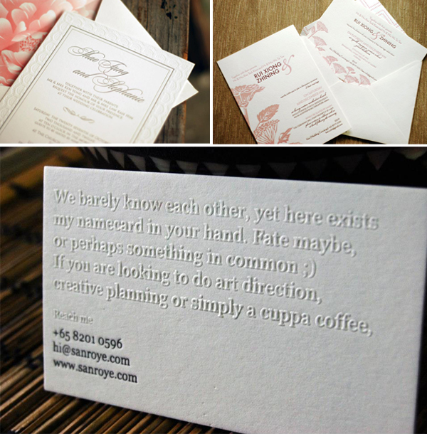 Papypress is a letterpress print shop based in Singapore.