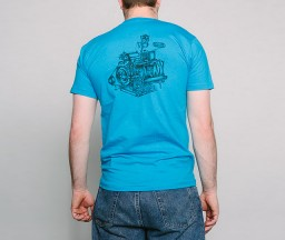 New Letterpress T-Shirts: Heidelberg Windmill Press back