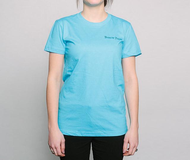 New Letterpress T-Shirts: Heidelberg Windmill Press womens front