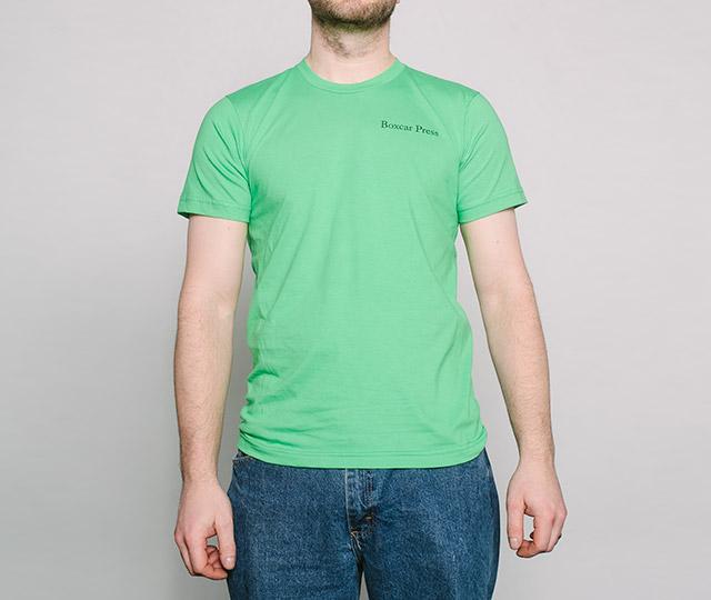 New Letterpress T-Shirt: Vandercook Press mens front