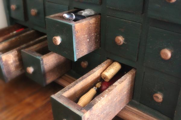 Tools of the printing trade at Press 65.