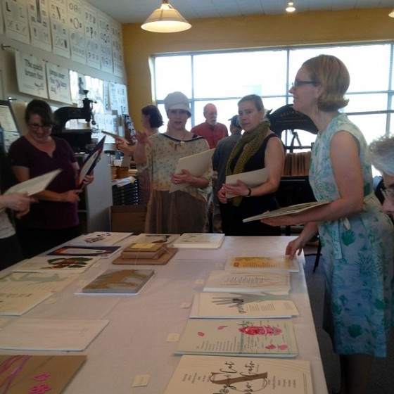 2014 Seattle Children's Hospital Broadsides - letterpress artists
