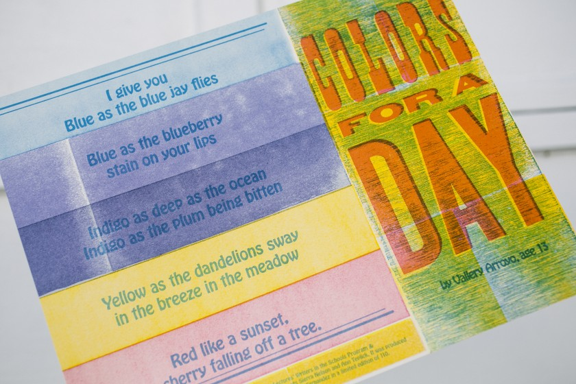 2014 Children's Hospital Letterpress Broadsides