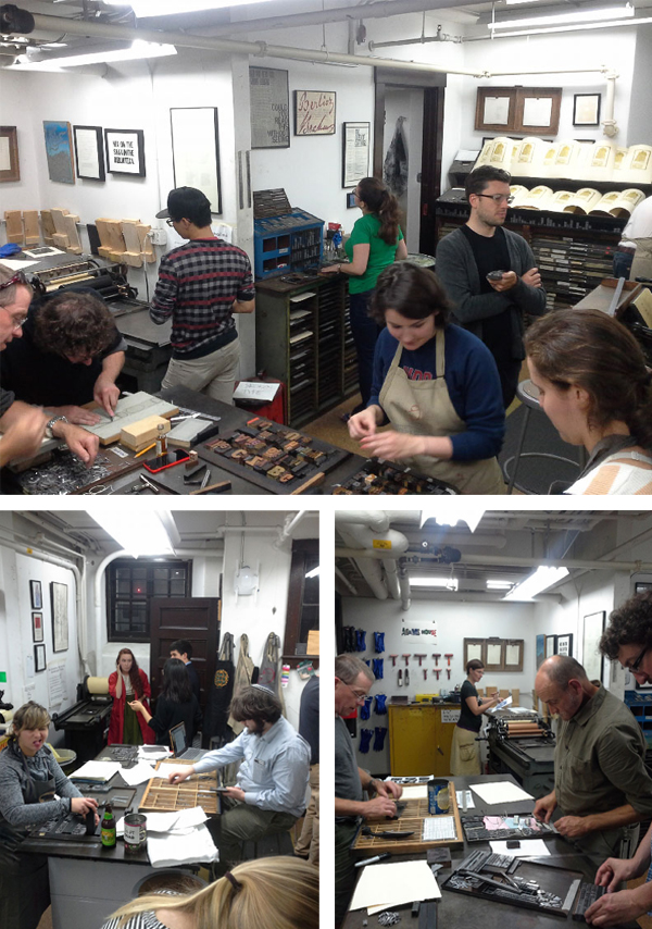 Classes at the Bow & Arrow Studio on the Harvard Campus