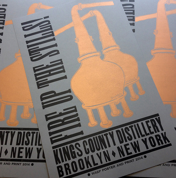 Letterpress Posters by Wasp Print