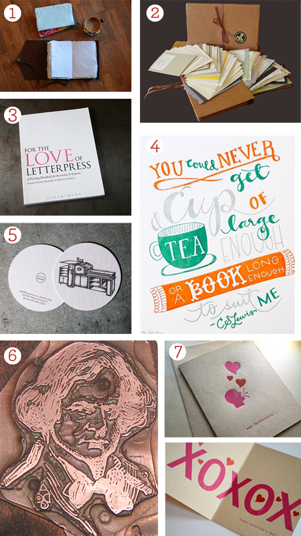 2015 Valentine's Day gift guide from Boxcar Press