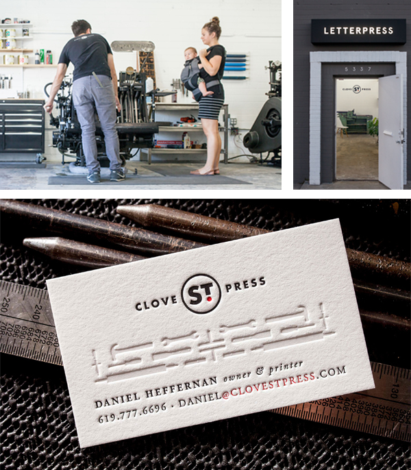 Family letterpress love runs abound at Clove St. Press!