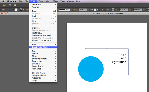 how to use illustrator to crop
