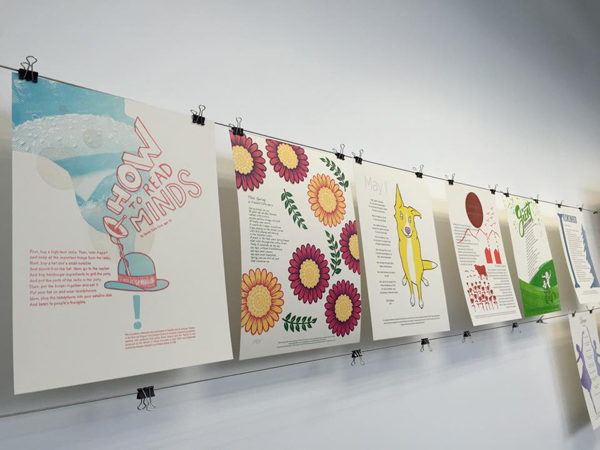 Seattle Children's Hospital letterpress broadsides