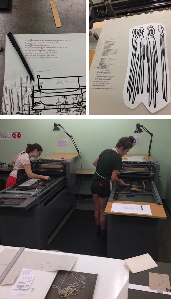 Florida State University offers a new letterpress class within its printmaking curriculum.