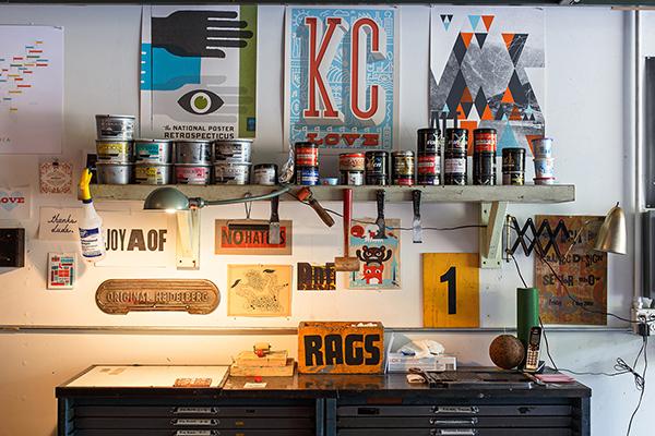 Vahalla Studios letterpress print shop