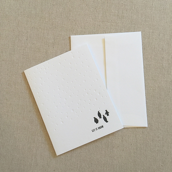 Letterpress cards from Nane Press