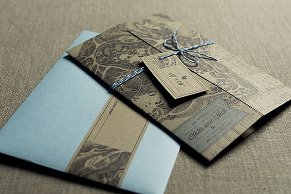 Letterpress work samples from Jennie Putvin of Nane Press