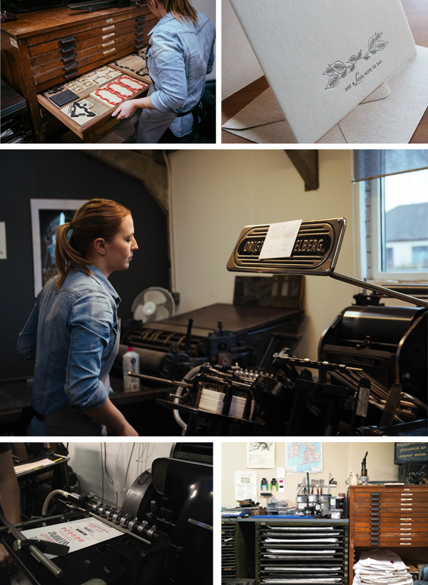 Take a virtual tour of The Hunter Press, a private farm workshop that is home to Scottish printer Lyndsey Hunter.