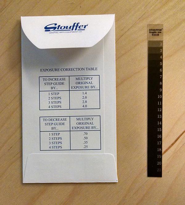 The Stouffer Gauge: A Platemaking Pal - Boxcar Press